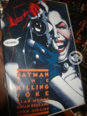 The killing Joke portada harley Quinn