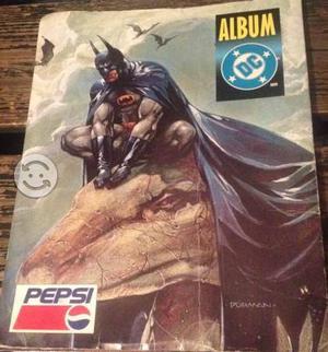 Álbum Pepsi cards Dc