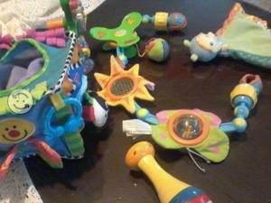 Lote de juguetes para bb