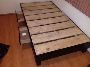 Vendo base de cama individual doble posot class for Vendo cama individual