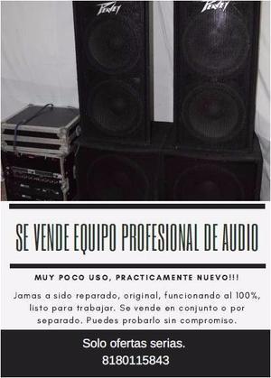 Equipo de Audio Profesional