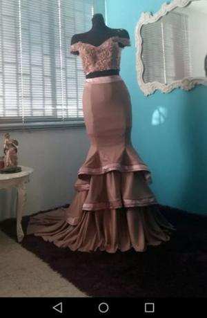 Hermoso vestido de diseñador