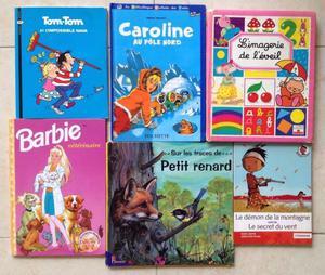 Libros en Francés para niños (6 libros) Barbie,