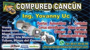 Puertas automáticas Cancún y Playa del Carmen