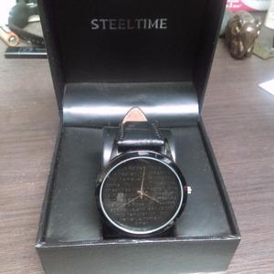 Reloj marca Steel time con el padre nuestro
