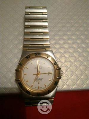 Reloj omega 18kilates oro y acero automático