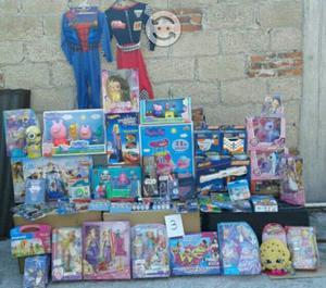Lote 3 de 62 juguetes nuevos de las mejores marcas