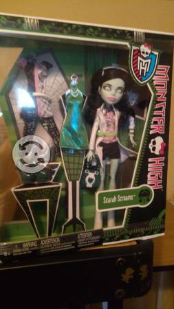 Muñecas Monster High nuevas, en caja