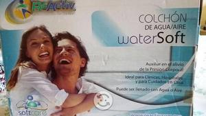Colchón watersoft inflable con agua/ aire
