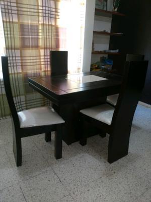 Hermoso y nuevo comedor 4 sillas