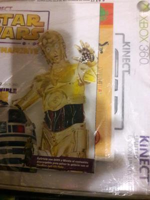 X BOX 360 NUEVO STAR WARS