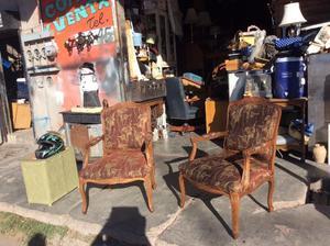 Hermosas par de sillas Luis xv