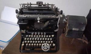 Maquina de escribir antigua remington standard 12