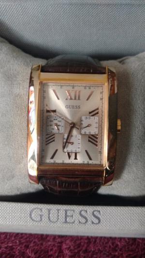 Reloj Guess acero piel para caballero