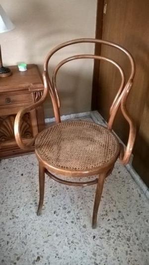 Única Hermosa Silla de Bejuco Antigua