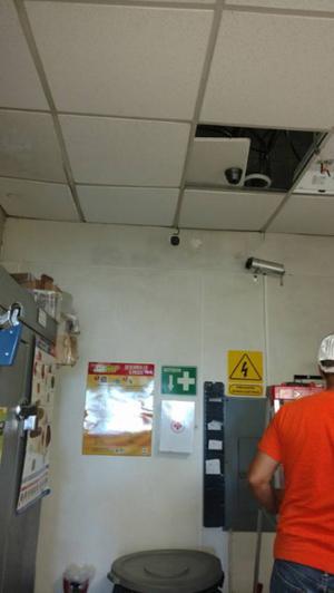 instalación de cámaras de seguridad marca lorex en