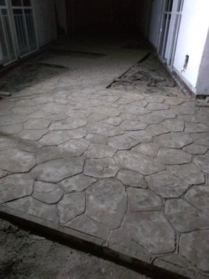 Pisos de concreto estampado al mejor precio posot class Cemento estampado precio