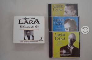 CD's Agustin Lara Colección de oro