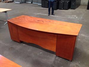 Escritorio de madera marca maderichi modelo posot class - Modelos de escritorios de madera ...