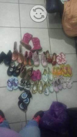 Lote Zapatos talla  y colcha cuna