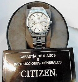 Reloj Citizen modelo DREX - Remates Increibles