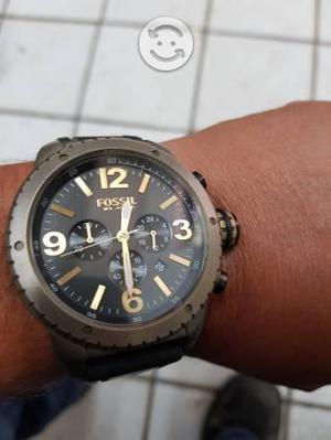 Reloj Original Fossil con Correa de Caucho.
