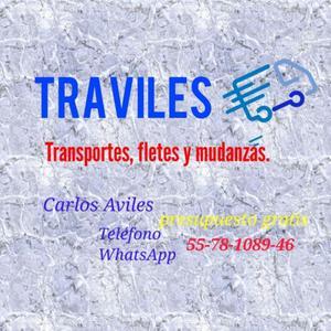 TRAVILES, Transportes, fletes y Mudanzas.