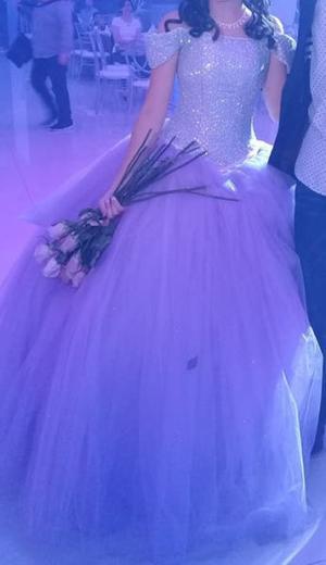 Vestido Xv Color Rosa Neon Posot Class