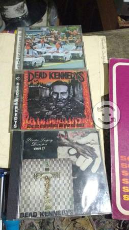Cd's de punk.D. Kennedys