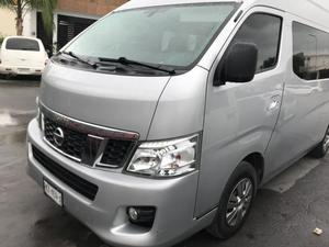 Renta diaria de camionetas para 15 pasajeros