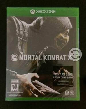 Mortal Kombat X (Nuevo) para Xbox One