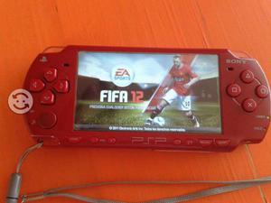 PSP slim rojo