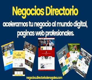 Paginas WEB ideales para tu negocio