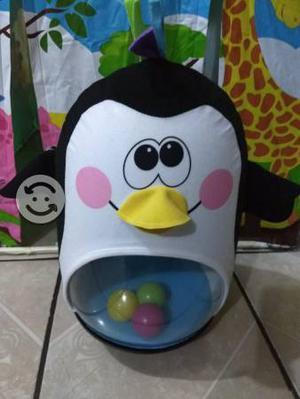 Pingüino inflable de Fisher Price para bebé
