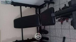 Banco para barra y silla para abdominales