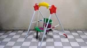Columpio de colores para niños