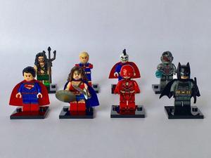 Genial Set Liga De La Justicia Compatible Lego