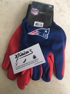 Guantes NFL New England Patriots Patriotas Pats