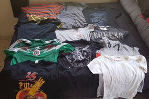 Lote de 10 camisas M