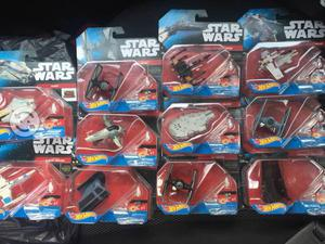 Naves star wars hot wheels