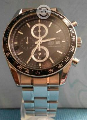 Reloj chrono acero