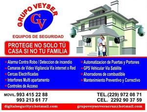 Venta e instalación y asesoría de equipos de seguridad