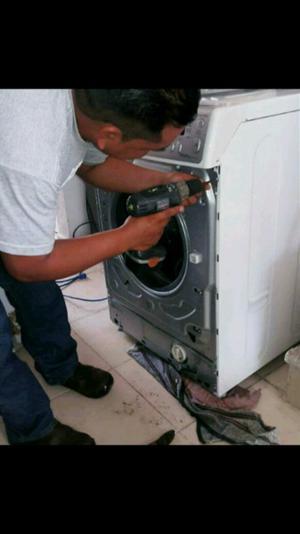 reparación y mantenimiento de lavadoras y secadoras en