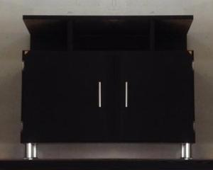 Mesa para tv color chocolate