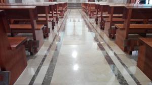 Pulido de pisos Granito terrazo mosaico