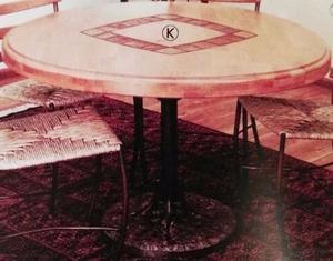 mesa redonda viva el barro