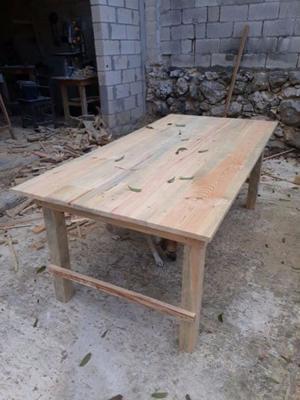 Mesa grande de madera 1.50 cm
