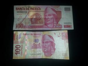 Billete de 100 pesos del