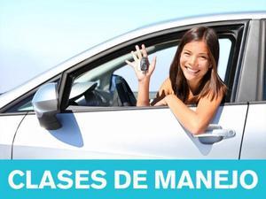 CLASES DE MANEJO EN AUTO ESTANDAR