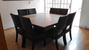 Comedor marmol italia con 8 sillas posot class for Comedor de marmol 8 sillas precio